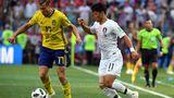 Сборная Швеции обыграла Южную Корею на ЧМ по футболу