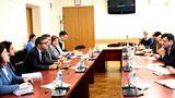 В рамках визита Миссии МВФ состоялась встреча с министром экономики