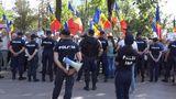 Oficial: 4 polițiști au avut de suferit la protestul opoziției