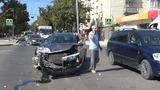 Из-за отключения светофоров в центре Бельц произошла авария