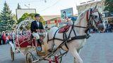 Впервые в Бельцах прошёл фестиваль конного искусства