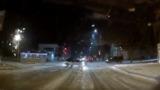 Дрифт в Комрате: водитель мастерски развернулся на перекрестке