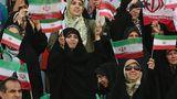 В Иране женщин впервые с 1979 года допустили на футбольный стадион