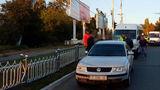 В Тирасполе маршрутка врезалась в легковой автомобиль