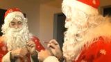 Молдавский Дед Мороз едва не попал за решётку