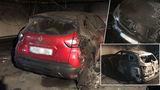 В Кишиневе на подземной парковке многоэтажного дома сгорели автомобили
