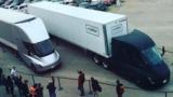 Беспилотная фура Tesla впервые доставила груз