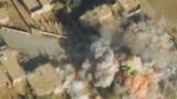 Уничтожение остатков ИГ в долине Евфрата сняли с беспилотника
