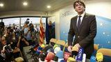 Puigdemont, dispus să candideze la alegerile anticipate din Catalonia