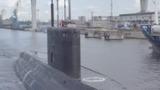 Первый выход в море новейшей российской подводной лодки попал на видео