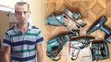 Столичная полиция задержала подозреваемого в краже электроинструментов