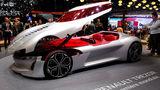Renault представила концепт электрокара c революционной дверью