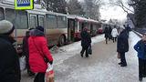 В центре Бельц троллейбусы встали в пробке