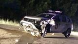 Вблизи Кирсово столкнулись машина полиции и два мотоцикла, погиб человек