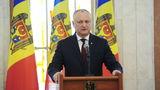 Додон заявил, что в июне может подписать Указ о роспуске парламента