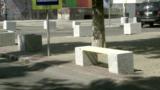 На улице Вероники Микле обустроили зону отдыха