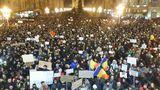 В Бухаресте проходит самый крупный протест за последние 25 лет
