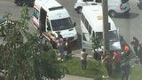 В Кишиневе микроавтобус врезался в столб, 11 человек госпитализированы