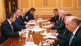 Додон, Филип и Канду провели встречу с участниками диалога по Приднестровью