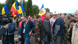 Dmitri Rogozin, primit cu proteste pe aeroportul din Chișinău