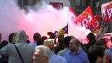 В Париже митинги профсоюзов переросли в беспорядки, есть пострадавшие