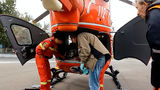Вертолет SMURD доставил больного из Бельц в Кишинев