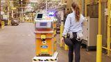 На заводе Ford в Испании начал работать самодвижущийся робот-курьер