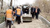 В Оргееве продолжается капитальный ремонт дворов