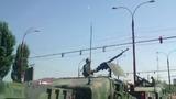 Броневики и вооруженные люди замечены на улицах Кишинева