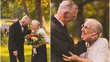 წყვილმა ქორწინების 65 წლისთავი ულამაზესი ფოტოსესიით აღნიშნა (ფოტოკოლაჟი)