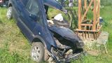 Уснувший за рулем водитель в Бельцах врезался в рекламный щит