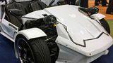 Toyota представила миниатюрный трёхколесный электромобиль