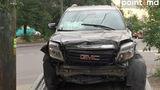 Автомобиль посольства США разрушил станцию техобслуживания