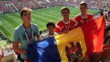 Додон принес флаг Молдовы на финал ЧМ-2018 по футболу
