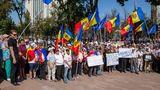 Protestatari: Interzicerea lui Dodon și Plahotniuc în UE