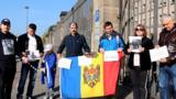 В европейских городах прошли пикеты в поддержку Георге Петика