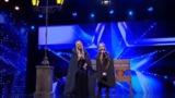 Дуэт мамы и дочки довел до слез жюри румынского конкурса талантов