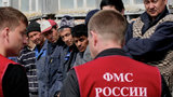 Почти семь тысяч мигрантов за сутки задержаны для проверки в Москве