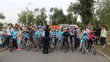 Около сотни школьников приняли участие в велопробеге при поддержке НИП