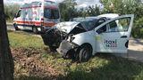 В Гидигиче таксист врезался в дерево и погиб