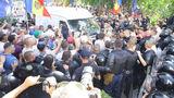 Адвокат: Водитель-участник протеста был задержан с рядом нарушений