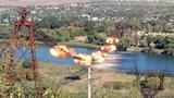 В Приднестровье взорвали канатную дорогу