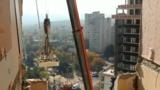Власти приступают к ремонту разрушенного взрывом здания на Рышкановке