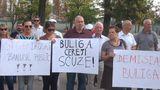 У парламента прошёл флешмоб с требованием отставки Валентины Булига