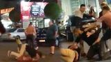 Ночью возле торгового центра Atrium произошла массовая драка