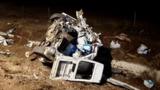На трассе Тимишоара - Лугож микроавтобус разбился в лепешку