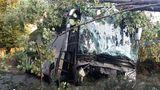 Названа причина аварии с автобусом в Румынии - водитель уснул