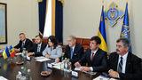 Турчинов и Лесник обсудили сотрудничество по приднестровскому вопросу