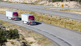 В США создадут технологию для колонн беспилотных грузовиков