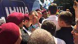 В Киеве произошла потасовка между сторонниками Саакашвили и полицией
